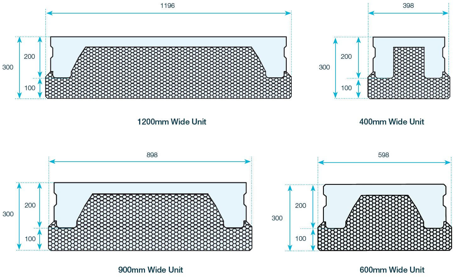 FP-McCann-precast-concrete-thermabeam-300mm-thermabeam-unit-diagram-300mm-600mm-900mm-1200mm-widths