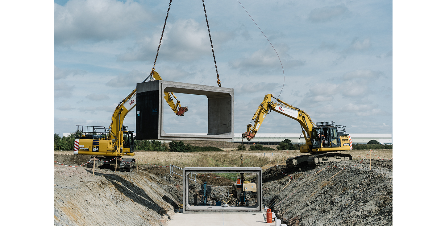 FP-McCanns-Box-Culverts-being-installed-by-ECL-Civil-Engineering-on-The-Wixams-development-Bedfordshire