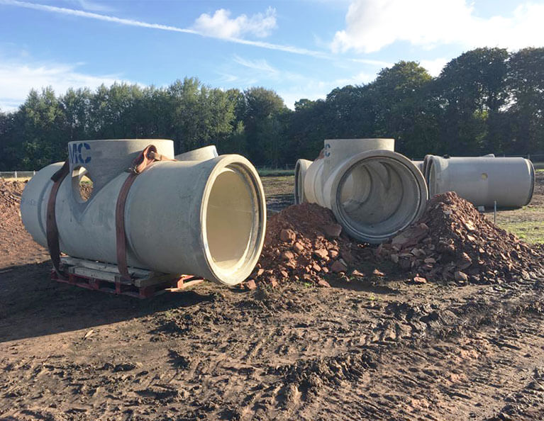 FP-McCanns-precast-concrete-DN1200-StormHold-Attenuation-tank-installed-on-Redrow-Homes-development