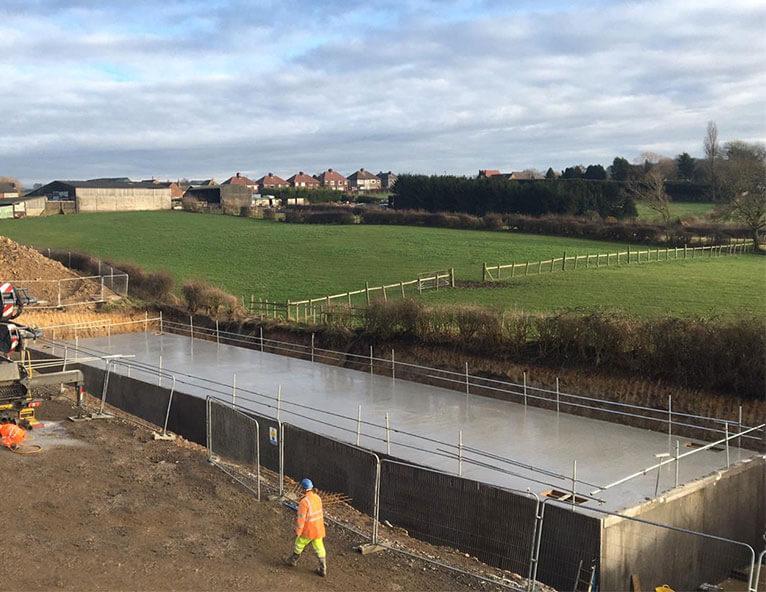 FP-McCanns-precast-concrete-attenuation-tank-at-Corbridge-housing-development-Northumberland