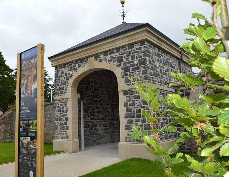 FP-McCann-Ennis-Stone-used-on-Hillsborough-Castle-Gatehouse