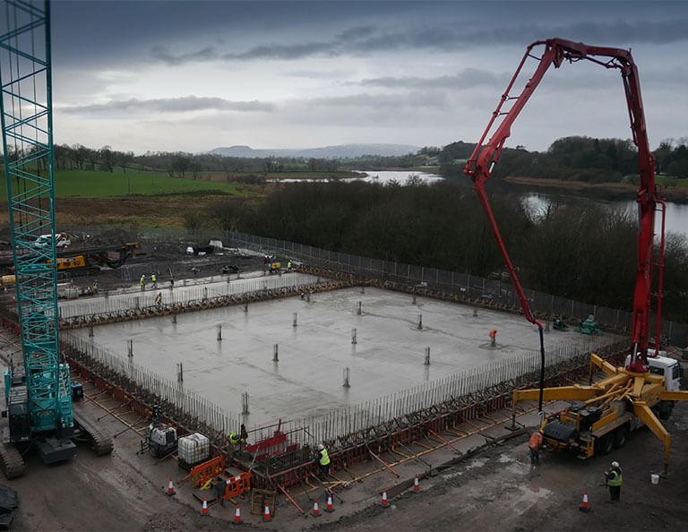 FP-McCann-Killyhevlin-water-treatment-ready-mix-concrete-pour