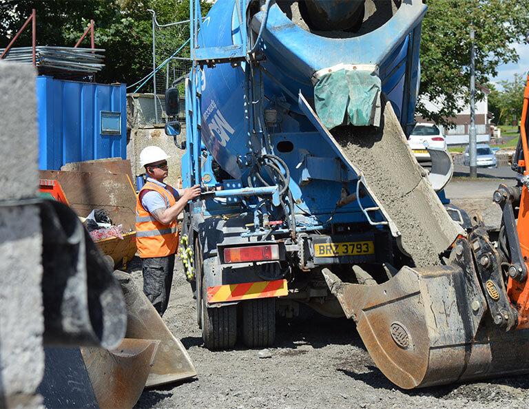 FP-McCann-Ready-Mix-Concrete-used-by-QMAC-Construction-at-Ahoghill-social-housing-development