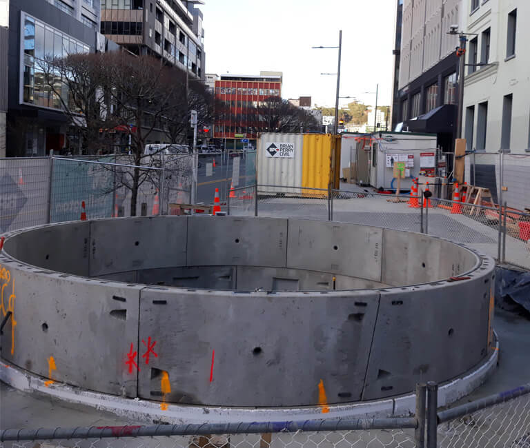 FP-McCann-TunnelsShaft-6.5m-Shaft-supplied-to-Wellington-New-Zealand-Caisson-Featured-Image