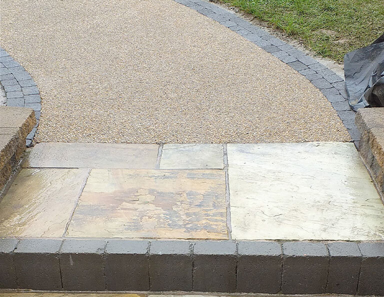 FP-McCanns-Lite-Gold-Concrete-Exposed-used-on-residential-driveway