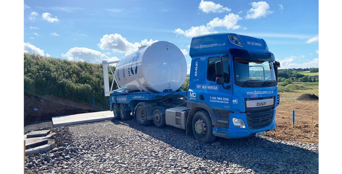 FP McCann Dry Silo Mortar Supplier Northern Ireland