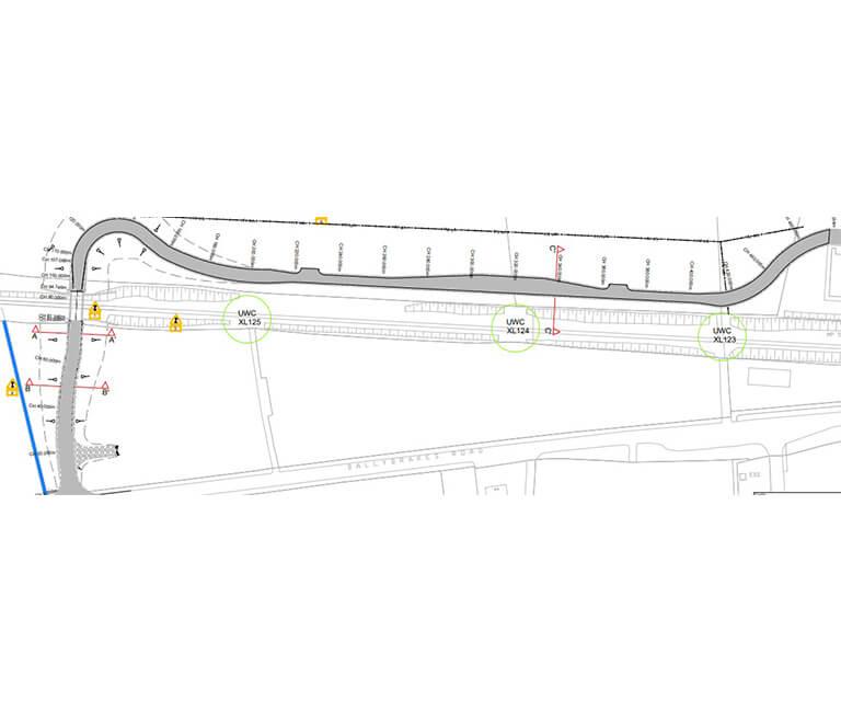 FP McCann Closure of User Worked Crossing XL122 to XL126 Scheme Ballymoney