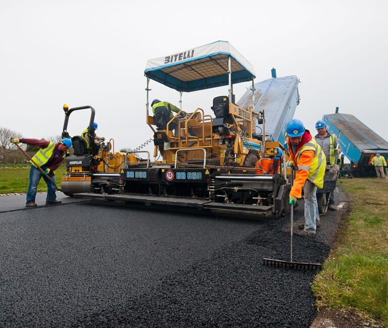 What is the difference between Tarmac, Asphalt and Bitmac?